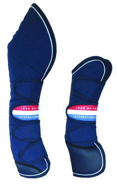 John Whitaker - Travel Boots Set of four travel boots made from touch polyester with a soft fleece foam lining to ensure comfort and protection