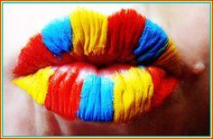 Clown lips!