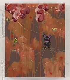 artnet Galleries: Gloomy feelings by Fiona Rae from Buchmann Galerie