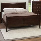 I'm thinking something like this for the guest room..?  Found it at Wayfair - Montreal Sleigh Bed