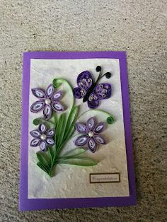 Handmade by HeidiH Paper Quilling, Card Ideas, Frame, Cards, Handmade, Home Decor, Picture Frame, Hand Made, Decoration Home