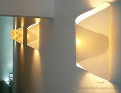 Luminária de papel