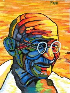 Hommage to Ghandi