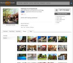 Hathaway Court Apartments Website