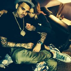 Chris Brown And Karrueche Tran Inseparable In Loved Up Photos After Jail Release | EntertainmentWise