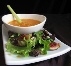 Autumn Greens and Ginger Soup from Game of Thrones food blog