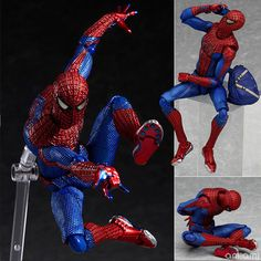 Anime Toy Action Figure 15cm PVC Joint movement Arts Spiderman Spider-man PVC Action Figure Collectible Model Toy  #Affiliate