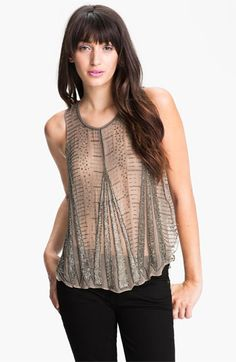 Parker Embellished Deco Tank available at #Nordstrom