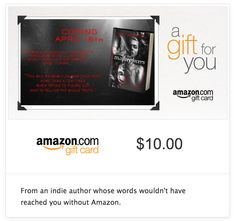 An Amazon Giftcard from Me to You