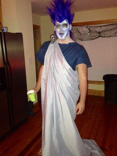 DIY Hades from Hercules Halloween costume!