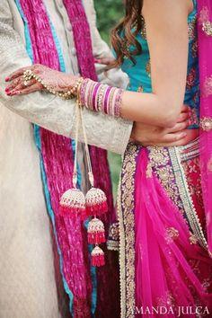 indian wedding bride groom couple portrait http://maharaniweddings.com/gallery/photo/7113
