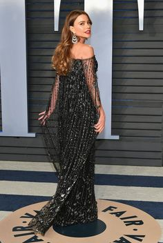 Oscars 2018 Afterparty Dresses and Preparty Dresses - Sofia Vergara in Ralph and Russo