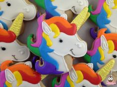This listing includes 12 x unicorn cookies.  All cookies can be customized and personalized to match your event and color scheme. Alternative cookie