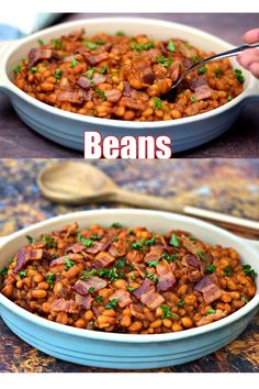 Instant Pot Homemade Southern BBQ Baked Beans- Instant Pot Homemade Southern B. Instant Pot Homemade Southern BBQ Baked Beans- Instant Pot Homemade Southern BBQ Baked Beans is t Southern Baked Beans, Bbq Baked Beans, Homemade Baked Beans, Bbq Beans, Soak Beans, Pinto Bean Recipes, Baked Bean Recipes, Navy Bean Recipes, Healthy Soup Recipes
