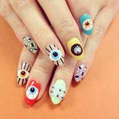 #styled with #EvilEye #Nails
