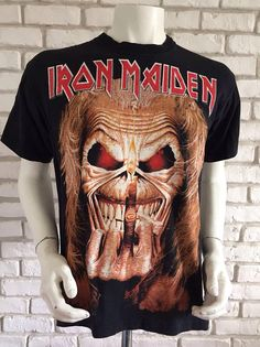 "Iron Maiden Eddie /""Piece of Mind/"" Statue de Bouddha"