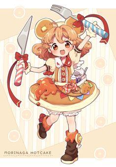 Pancake girl!! ^o^