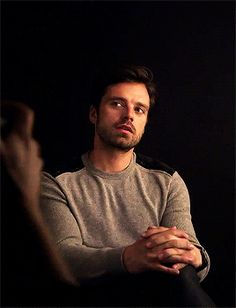 Sebastian stan · bucky barnes · this guy! i was meant to go to bed but then i see sebby and Sebastian Stan, Michael Johnson, Chace Crawford, Bucky Barnes, Matthew Espinosa, Chuck Bass, Christina Hendricks, Austin Butler, Dc Movies