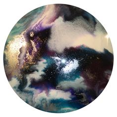 55cm Resin Art Abstr