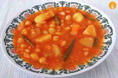 Olla gitana. Receta de cocina tradicional paso a paso | Recetas de Cocina Casera - Recetas fáciles y sencillas