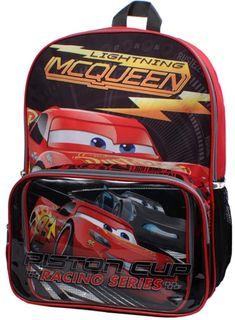 Cars Lightning McQueen Backpack  amp  Lunch Bag Set  affiliate Kids  Backpacks 24bb819efca4b