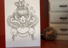 Kyary Pamyu Pamyu  Original pencil Drawing. 21x145cm by DreamSight