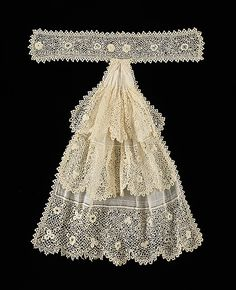 Jabot Date: ca. 1900 Culture: French Medium: linen, cotton Dimensions: 16 1/2 in. (41.9 cm) Credit Line: Brooklyn Museum Costume Collection at The Metropolitan Museum of Art, Gift of the Brooklyn Museum, 2009; Gift of Mr. and Mrs. Maxime L. Hermanos, 1961 Accession Number: 2009.300.2001