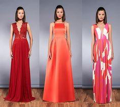 06 vestidos de festa sem bordados - Madrinhas de casamento