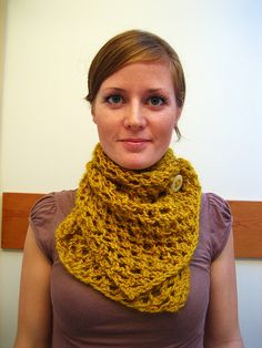 free pattern for mustard scarf, needle size 10 & 15, worsted weight