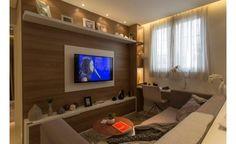 Ambiente | O Apartamento Decorado Imagine Santo André traz a união entre o contemporâneo e o aconchegante. | Clique Arquitetura | Seu portal de Ideias e Soluções