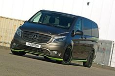 Mercedes-Benz Vito by Hartmann Hartmann focuses on another Mercedes van. This time the Vito is subject of their tuning. Mercedes Benz Vito, Mercedes Sprinter, Mercedes Truck, New Mercedes, Luxury Van, Day Van, Mini Bus, Expedition Vehicle, Custom Vans