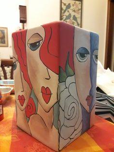 Našli sme pár nových pinov na vašu nástenku Hrnčeky - Painted Flower Pots, Painted Pots, Ceramic Painting, Ceramic Art, Ceramic Pottery, Pottery Art, Diy Lego, Art Pierre, Pottery Painting Designs