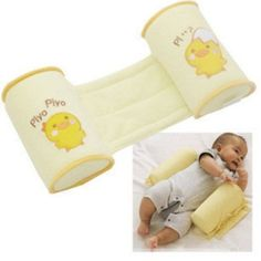 High-quality Cute Cartoon Cotton Baby Anti Roll Pillow Massager Infant And Newborn Nursing Pillows Bedding For Kids