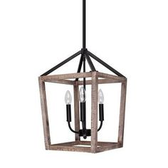 Shop for Rustic Weathered Oak Wood Pendant Lighting Chandelier. Get free delivery On EVERYTHING* Overstock - Your Online Ceiling Lighting Store! Get in rewards with Club O! Island Pendant Lights, Rustic Pendant Lighting, 3 Light Pendant, Rustic Chandelier, Chandelier Pendant Lights, Home Lighting Design, Cool Lighting, Iron Chandeliers, Chandeliers Online