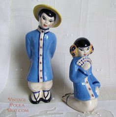 Your place to buy and sell all things handmade - Vintage Asian decor – from Ceramic Art Studio in Wisconsin - Vintage Ceramic, Ceramic Art, Chinese Figurines, Modern Asian, Asian Decor, Art Studios, Boy Or Girl, Oriental, Wisconsin