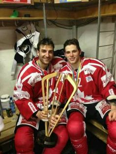 12/31/12 Patrice Bergeron & Tyler Seguin win the Spengler Cup during the 2012 lockout.