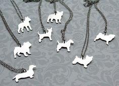 Mooshy Gooshies Custom Dog Silhouette Jewelry