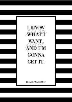Art print: I know what I want and I'm gonna get it. by elisagabi
