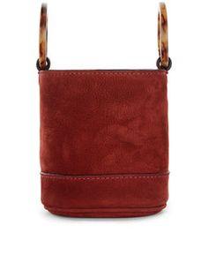 Oxblood Bonsai Bucket Bag