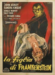 Frankenstein's Daughter (1958) (Italy)