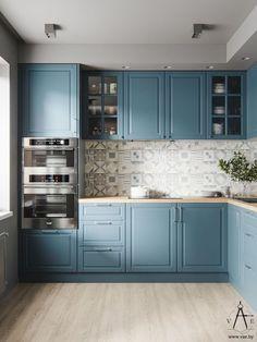 Choosing New Kitchen Cabinets Kitchen Decor, Home Decor Kitchen, Kitchen Furniture Design, Kitchen Room Design, Home Kitchens, Kitchen Remodel Small, Kitchen Design, Kitchen Renovation, Interior Design Kitchen Small