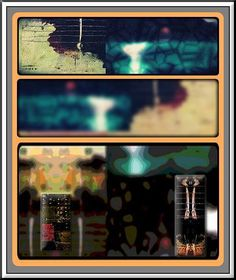 Collector of the Invisible #1 - three versions from this series so far. #digitalartwork