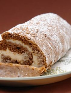 Gluten-Free Recipes: Pumpkin Roll Recipe for Gluten Free, Celiac and Wheat Free Diets — by SureTalent-Books / Gluten-Free-Desserts.com
