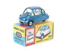 Mettoy Corgi Toys No.233 Heinkel Trojan Economy Car 1962-72