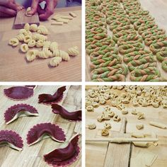 The Mouthwateringly Mesmerizing Art of Making Fresh Pasta by Hand - My Modern Met (joy of cooking hands) Italian Dishes, Italian Recipes, Pasta Dishes, Food Dishes, Pasta Casera, Joy Of Cooking, Cooking Tips, Pasta Shapes, Fresh Pasta