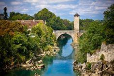 Pont Vieux, Orthez, France