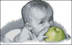 Gallery.ru / Фото #1 - Chlapec s jablkom - zuzas