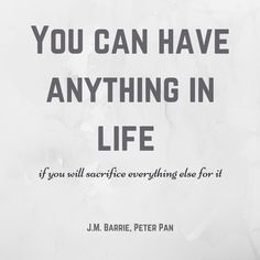 JM Barrie Quote | Lunch-Time Librarian |
