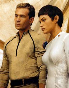 #pleasesirmayihavesomemore Trip and T'Pol, Star Trek: Enterprise #startrek #fanfiction