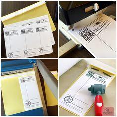 PDF-Druckvorlage MEDIZIN Rezeptblock zum Spielen für Kinder. Passt perfekt zum Arztkoffer aus Filz. Eine Idee von Jade & Lilou. Gestaltet von shesmile.